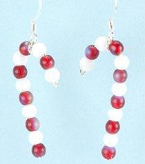 Beaded Candy Can Earrings