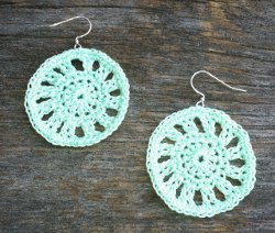 Dainty Doily Earrings