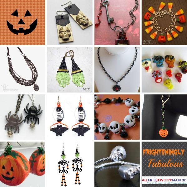 58 Frighteningly Fabulous Halloween Jewelry Projects