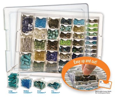 AssortedBeadStorageTray How to Organize Beads: What Are Your Best Tips and Tricks?