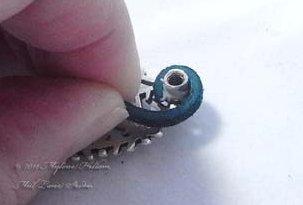 Кожаный браслет с серебром