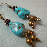 Southwest Spirit Turquoise Earrings